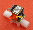 12V Electric Solenoid Valve Magnetic DC N/C Water Air Inlet Flow Switch 1/2""