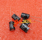 50PCS 16V 470uF Electrolytic Capacitors 105℃ 8x12 MM NEW