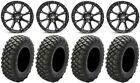 "STI HD4 15"" Wheels Black 32"" Crawler XR Tires Polaris Ranger XP 9/1K"