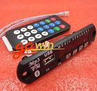 5PCS Wireless Bluetooth 12V MP3 WMA Decoder Board Bluetooth IC USB TF Radio
