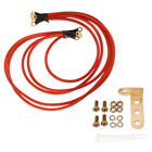 Universal Performance 5-Point Grounding Wire Cable Earth System Kit Red