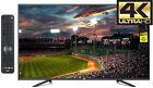 JVC 55 4K Ultra HD TV LED Flat Large Big Screen Wall Gaming Monitor Home Theater