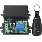DC 12V 10A Relay 1CH Wireless RF Remote Control Switch Transmitter + Receiver US