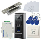 Fingerprint &RFID Door Entry Security Access Control System Kit with Strike Lock