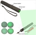 Military Green Adjustable 532nm Powerful light high Laser Pen Pointer 10000mw