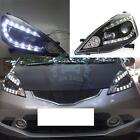 For Honda Fit/Jazz EV 2009-2012 U-Tube Style LED DRL+HID Xenon+Headlight Newest
