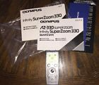 Olympus VN-3100 Digital Voice Recorder Handheld Gray With Instructions Need 2AAA