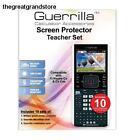 Guerrilla TI NSPIRE CX Screen Protectors Classroom Pack of 10 Grade Precision