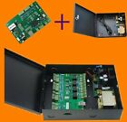 TCP/IP one Door Net Access Controller 20K Users 100K Event power supply iron box