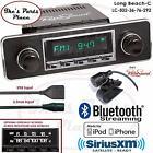 RetroSound Long Beach-C Radio/BlueTooth/iPod/USB/Mp3/RDS/3.5mm AUX-In-502-36-VW