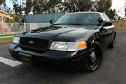 2009 Ford Crown Victoria Police Interceptor Sedan 4-Door 2009 Ford Crown Victoria (P71) In Immaculate Condition/Shape/Super Sharp