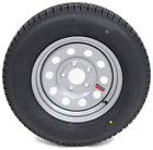 2-Pack TowMax Trailer Tires & Rims ST185/80R13C 13X4.5 5-4.5 Modular Silver