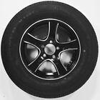 Trailer Tire & Rim 60230 ST205/75R15C 1820# 50PSI 15X5 5-4.5 Aluminum Black