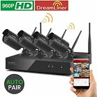 Dream Liner 8CH Expandable xmartO WOS1384-BK 8 Channel 960p HD Wireless Security