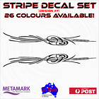 1m STRIPE #7 marine,boat,car,ute,4x4,truck caravan pinstriping decal sticker set