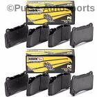 Hawk Ceramic Brake Pads (Front & Rear Set) For 88-95 E34 525i 530i 535i 540i