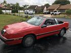1992 Chrysler LeBaron LX 1992 Chrysler Lebaron LX Convertible, RUST FREE Florida Car