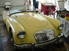 1957 MG MGA  1957 MGA 1500  Yellow Red White and Black