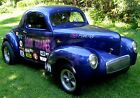 1940 Willys 40  1940 Willy's Coupe,Real Deal Steel Drag Car,454 V-8,Auto,Front Disc,Runs Strong