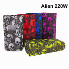 SMOK Alien 220W Cover Protector Skull Pattern Sleeve Wrap Silicone Case