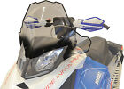 Powermadd 13432 Cobra Windshield 17.5in. Clear with Black Fade