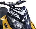 Skinz NXSWP400-BK/WHT NXT LVL Vented Windshield Pack Black/White