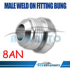 -8AN AN8 Male Weld-On Fitting Hose Line Adapter Bung Aluminum Brand New US Stock
