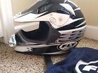 Fly Motorcycle Helmet Artco Dot Medium 57-58 CM FAST SHIP Motocross