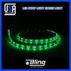 "8x Green 12"" 3528/1210 18SMD Car Boat Submersible Marine 1ft Bow LED Strip Light"