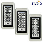 Waterproof Keypad Standalone Access Control Home Door Entry Controllers 3pcs/