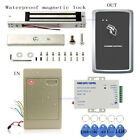 In and Out by Swipe Card Weatherproof Access Control Systems Kit Magnetic Lock