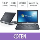 "DELL Latitude E6320 E6420 13"" Laptop i5 3.30 GHz 4GB RAM 320GB HDD SSD DVD Drive"