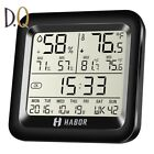 Habor Digital Hygrometer Thermometer Indoor Humidity Monitor with Temperature Ga