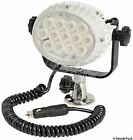Night Eye High-beam LED Light with Base for Flat Mounting 13W 12/24V Osculati