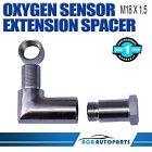 O2 Oxygen Sensor Dual fitment 90 Degree Steel  O2  Sensor Extender M18X1.5