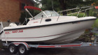 158 HRS 1997 BOSTON WHALER 21 CONQUEST OFFSHORE SPORT FISHING CUDDY CABIN  BOAT