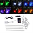 Hot Sale RGB Wireless Music Control LED Strip Lights Car Interior Atmosphere Lam