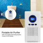 LED Ozone Generator Air Purifier Toilet Bedroom Ozone Deodorizer Disinfection OB