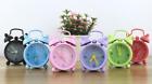 Mini Cute Cartoon Alarm Clock Concise Style Portable Children Decor Student Gift