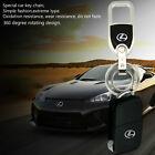 Crystal Diamond Zinc Alloy Metal car logo key chain key-ring Fit For Lexus Auto