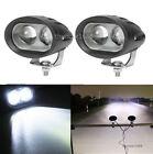 2PCS ATV UTV Offroad 4D 20W LED Spot Work Light Bar Driving Fog Lamp For Can-Am