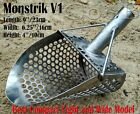NEW *MONSTRIK V1* Beach Sand Scoop Stainless Steel Hunting Detector Tool by COOB