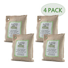 Moso Natural 200gm Air Purifying Bag, Natural, 4-Pack