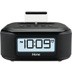 iHome iPL23 Stereo FM Clock Radio with Lightning Dock Charge/Play for iPhone 5/5