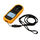 Digital Airflow Wind Gauge Speed Anemometer Meter Thermometer  Yellow GM-816