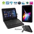 "9"" Android Tablet PC Quad Core 1GB WiFi Bluetooth 8GB +Keyboard Bundle AU White"