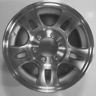 """TWO (2) Aluminum Sendel Trailer Rims Wheels 6 Lug 16"""" T03 Split-Spoke Style"""