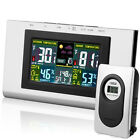 Wireless Thermometer Weather Station Hygrometer Temp Alarm Out/Indoor Forecast
