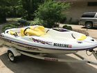 '96 Bombardier Seadoo Speedster twin jet boat 170hp total wt Trailer ONLY 78hrs