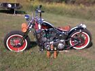 2008 Custom Built Motorcycles Bobber  2008 custom harley